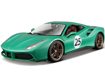 Bburago 18-76101 Ferrari 488 GTB #25 1:18 Jewel 70th Anniversary Green