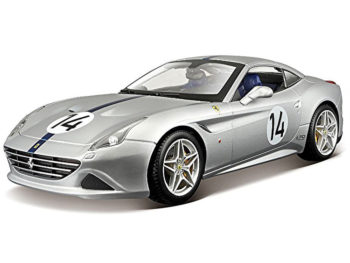 Bburago 18-76103 Ferrari California T Hot Rod #14 1:18 70th Anniversary Silver