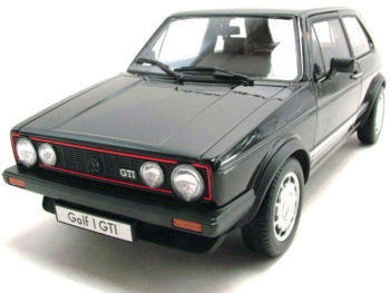 Welly 18039 1983 VW Volkswagen Golf 1 GTi 1:18 Black