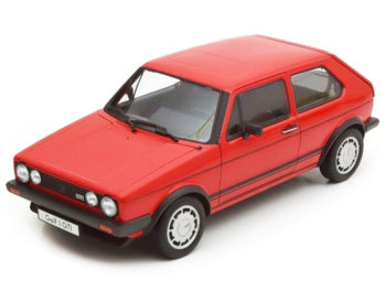 Welly 18039 1983 VW Volkswagen Golf 1 GTi 1:18 Red