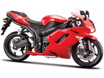 Maisto 20-07118 Kawasaki Ninja ZX-6R 1:12 Red