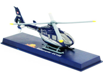 New Ray 2615 Eurocopter EC135 The Flying Bulls Helicopter Chopper 1:43 Red Bull