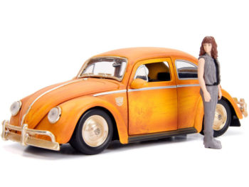 Jada 30114 Transformers VW Volkswagen Beetle BumbleeBee 1:24 with Charlie Figure
