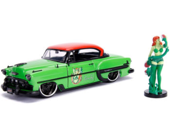 Jada 30455 DC Bombshells 1953 Chevrolet Bel Air 1:24 with Poison Figure