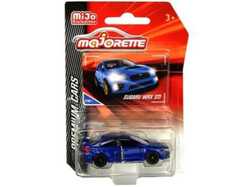 Majorette 3052 MJT Premium Cars Subaru WRX STi 1:64 Blue