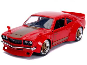 Jada 30718 JDM Tunders 1974 Mazada RX-3 1:24 Glossy Red