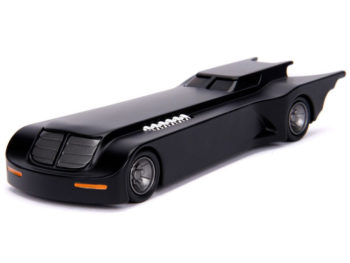 Jada 30915 Batman The Animated Batmobile 1:32 Black