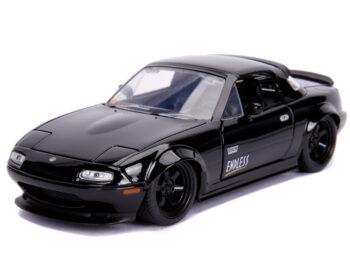 Jada 30936 JDM Tuners 1990 Mazda Miata Hard Top 1:24 Glossy Black