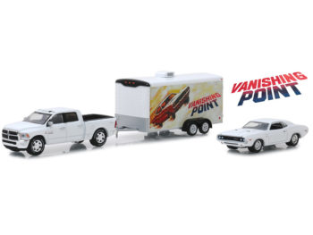 Greenlight 31070 B Hitch & Tow Vanishing Point Dodge Ram & Dodge Challenger 1:64 Set