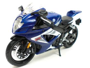 Maisto 31153 Suzuki GSX-R 750 1:12 Blue White