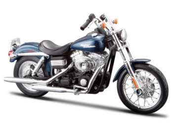 Maisto 32325 Harley Davidson 2006 Fxdbi Dyna Street Bob 1:12 Blue