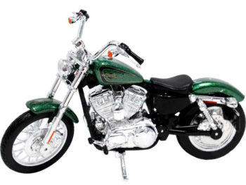 Maisto 32335 Harley Davidson Custom 2013 XL 1200V Seventy Two 1:12 Green