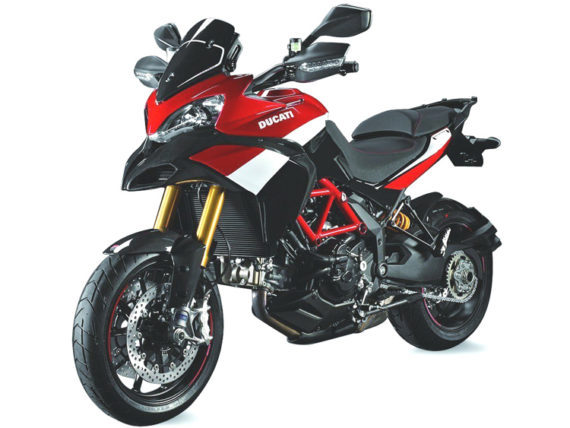 New Ray 57533 Ducati Multistrada 1200 S Pikes Peak 1:12 Black Red White