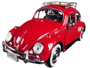 Motormax 79558 1966 VW Volkswagen Classic Beetle 1:24 Red