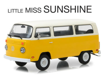Greenlight 84081 Little Miss Sunshine 1978 VW Volkswagen Type 2 Bus 1:24 Yellow