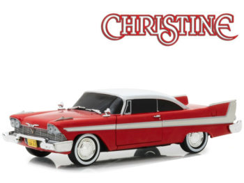 Greenlight 84082 Christine 1958 Plymouth Fury 1:24 Evil Version Black Window