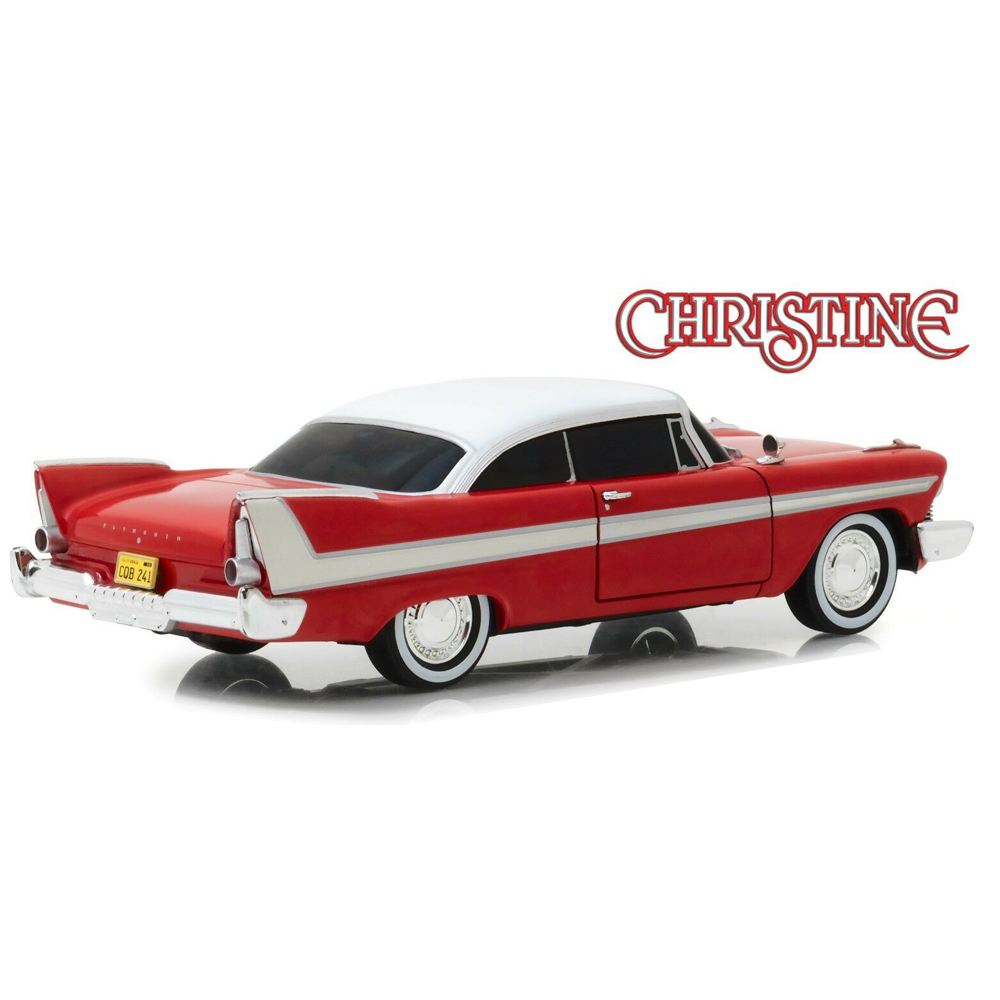 GREENLIGHT 84082 1//24 1958 PLYMOUTH FURY CHRISTINE BLACKED OUT WINDOWS