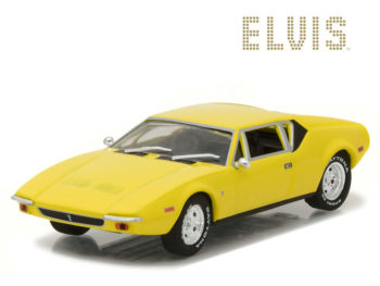 Greenlight 86502 Elvis Presley 1971 Detomaso Pantera 1:43 Yellow