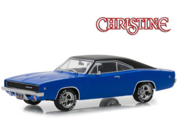 Greenlight 86531 Christine Dennis Guilder's 1968 Dodge Charger 1:43 Blue