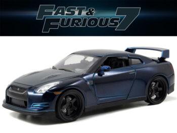 Jada 97036 Fast & Furious Brian's 2009 Nissan Skyline GT-R R32 1:24 Blue
