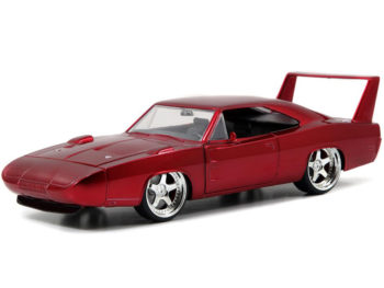 Jada 97060 Fast & Furious 1969 Dodge Charger Daytona 1:24 Red
