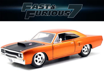 Jada 97216 Fast & Furious 7 Dom's 1970 Plymouth Road Runner 1:24 Copper
