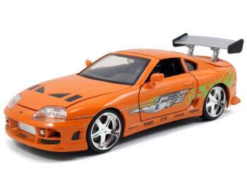 Jada 97168 Fast & Furious Brian's Toyota Supra 1:24 Orange
