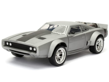 Jada 98291 Fast & Furious 8 Dom's Ice Charger 1:24 Grey