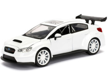 Jada 98296 Fast & Furious 8 Mr. Little Nobody's Subaru Wrx STi 1:24 White