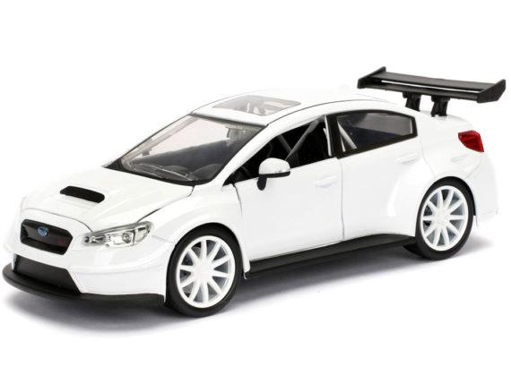 Jada 98296 Fast & Furious 8 Mr. Little Nobody's Subaru Wrx STi 1:24 White