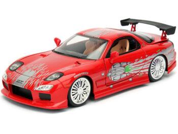 Jada 98338 Fast & Furious Dom's Mazda RX-7 1:24 Red