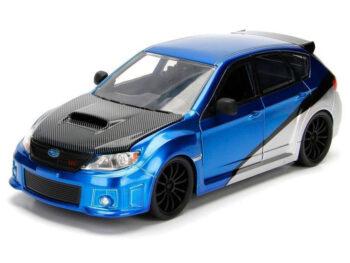 Jada 99514 Fast & Furious Brian's Subaru Imperza Wrx STi 1:24 Blue