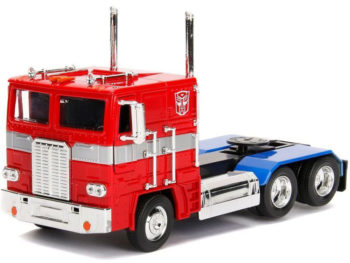 Jada 99524 Hollywood Rides Transformers G1 1:24 Autobot Optimus Truck
