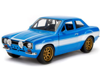Jada 99572 Fast & Furious Brian's Ford Escort MK1 1:24 Blue