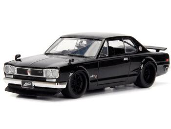 Jada 99686 Fast & Furious Brian's Nissan Skyline 2000 GT-R 1:24 Black