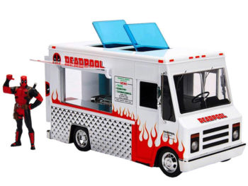 Jada 99730 Marvel Dedapool Taco Truck 1:24 with Deadpool Figure