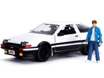 Jada 99733 Hollywood Rides Initial D First Stage Toyota Trueno AE 86 1:24 with Takumi Figure