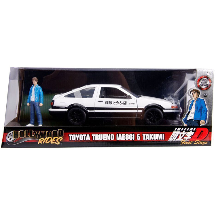 Jada 99733 Hollywood Rides Initial D First Stage Toyota