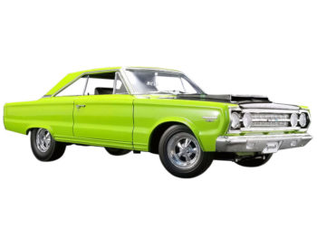 Acme A1806703 1967 Plymouth Belvedere GTX 1:18 Lime Light Green
