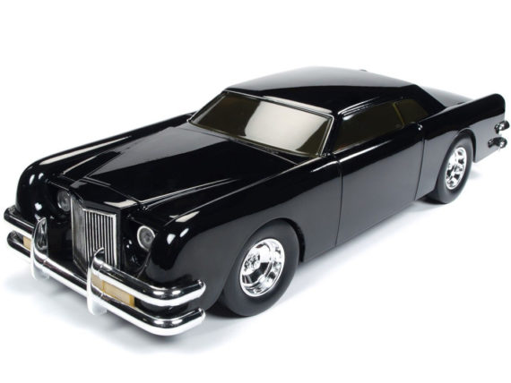 Autoworld Awss120 1971 Lincoln George Barris 1:18 Black Sparkle