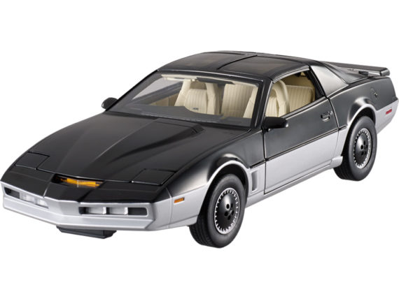Hot Wheels BCT86 Elite Knight Rider 1982 Pontiac Trans Am 1:18 K.A.R.R 2-Tone