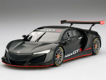 Top Speed TS0158 Honda NSX GT3 Presentation 2017 1:18 Limited Edition 1 of 999 Black