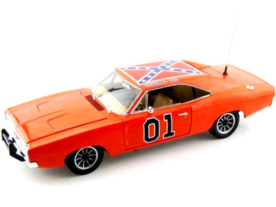 Autoworld Amm964 Dukes of Hazzard General Lee 1969 Dodge Charger 1:18 Orange