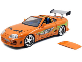 Jada 64018 W5 The Fast and Furious Brian's Toyota Supra 1:18 Orange