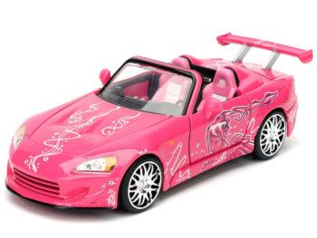 Jada 97604 2 Fast & 2 Furious Suki's 2001 Honda S2000 1:24 Pink