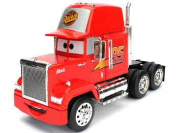Jada 98103 Disney Pixar Cars Movie 1:24 Mack Trailer Red