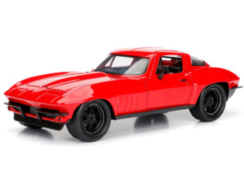 Jada 98298 Fast & Furious 8 Letty's Chevy Corvette 1:24 Red