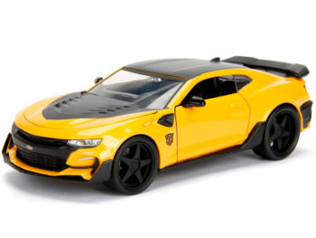 Jada 98399 Hollywood Rides Transformers 1:24 The Last Knight 2016 Chevrolet Camaro Bumblebee Yellow