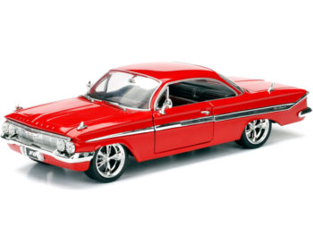 Jada 98426 Fast & Furious 8 Dom's Chevy Impala 1:24 Red