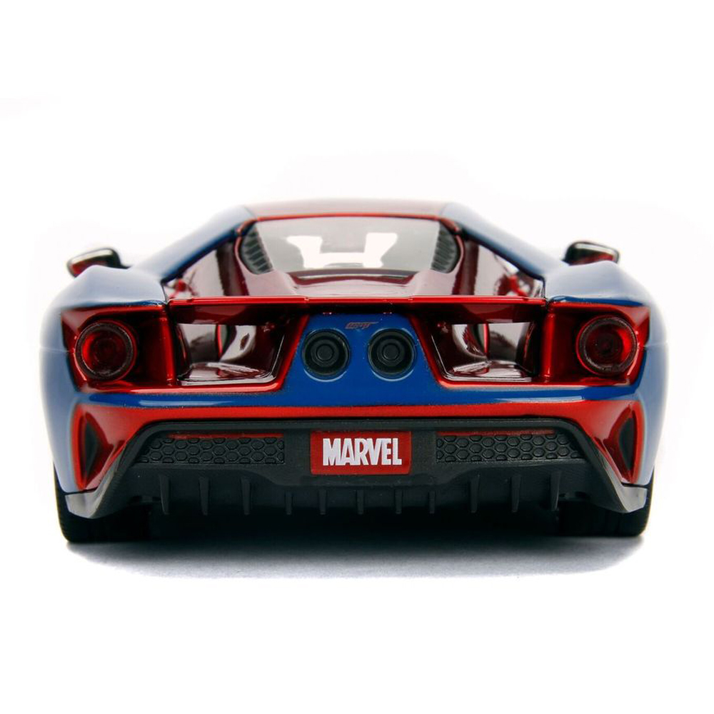 Home Brands Jada Jada  Hollywood Rides Jada  Hollywood Rides  Ford Gt  With Spider Man Figure